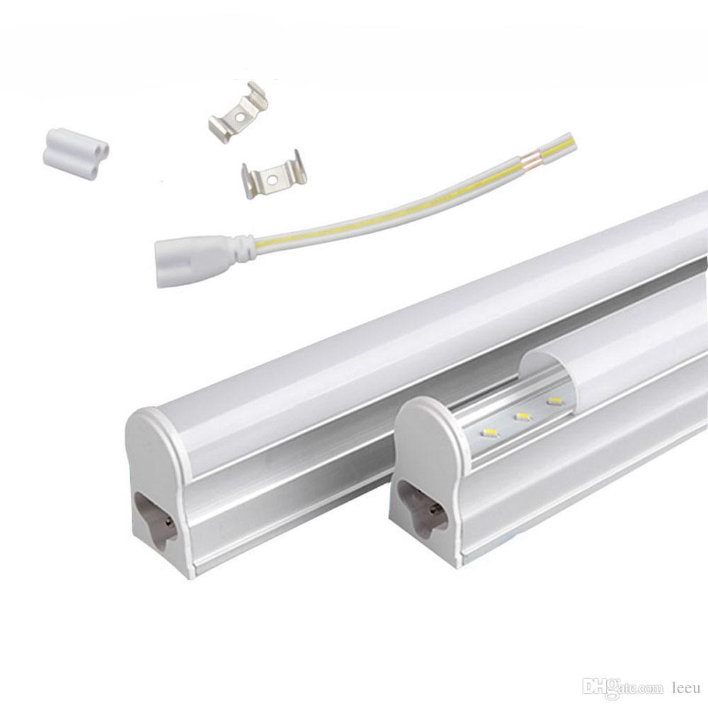 T5 1.2m 는 22w Led 관 빛 96pcs SMD2835LED 형광성 4FT 관 빛 AC85-277V 온난하고/차가운 백색을 통합했습니다
