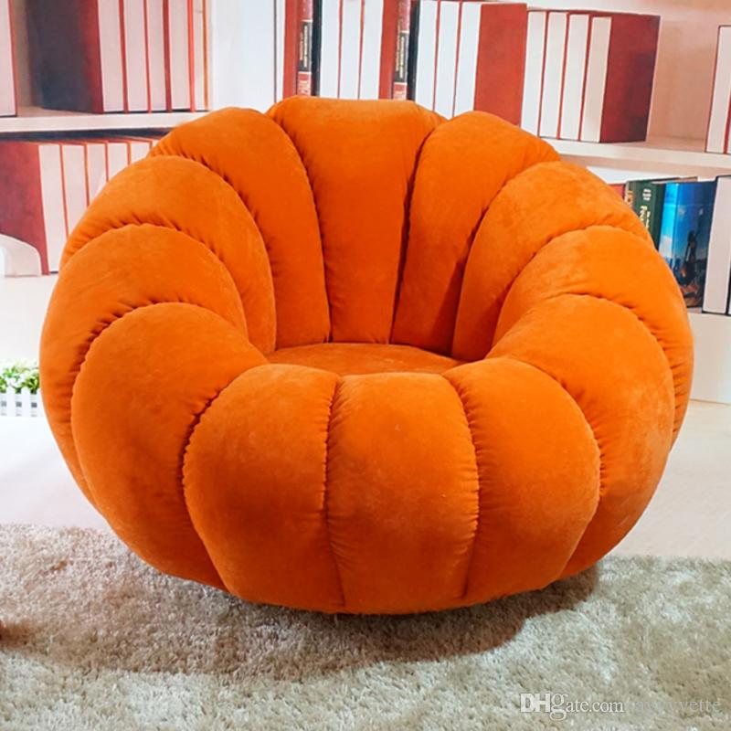 Fine 2019 Pumpkin Beanbag Single Washable Fabric Rotary Computer Chair Bedroom Tatami Lounge Chair Quality Assurance Buy Send A Beautiful Pillow From Dailytribune Chair Design For Home Dailytribuneorg