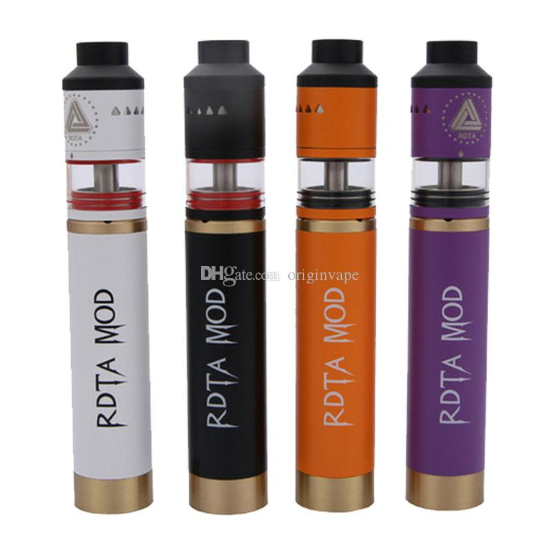 Quality Ijoy Limitless RDTA MOD Kit Copper Tube MOD 18650 Battery 6.9ml Sub Ohm Tank Atomizer Colors DHL Free Shipping