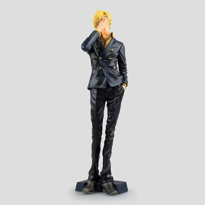 25CM pvc Japanese anime figure one piece Sanji action figure collectible model toys for boys fast shipping