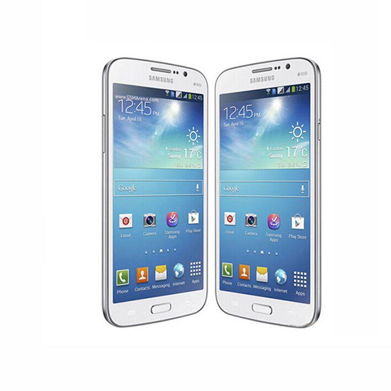 "Original Unlocked Samsung Galaxy Mega 5.8 I9152 i9152 Mobile Phone 1.5GB/8GB 5.8"" 8.0MP Refurbished cellphone"