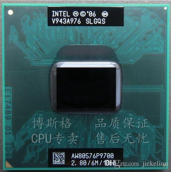 P9700 Notebook CPU Original for Intel Core 2 Duo P9700 SLGQS 2.8Ghz 6M 1066MHz Socket P Mobile CPU Processor
