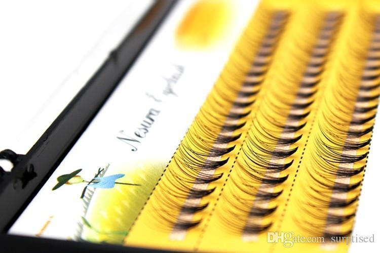 6/8/9/10/11/12/14mm Individual natural Mink Eyelash Extension. Artificial Fake False Eyelashes
