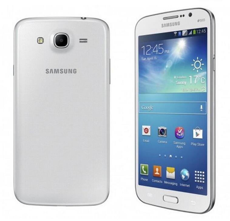 """الأصلي سامسونج غالاكسي ميجا 5.8 I9152 ثنائي النواة 5.8 """"رام 1.5 جيجابايت ROM 8GB 8MP المزدوج سيم الجيل الثالث 3G تم تجديد الهواتف مقفلة"""