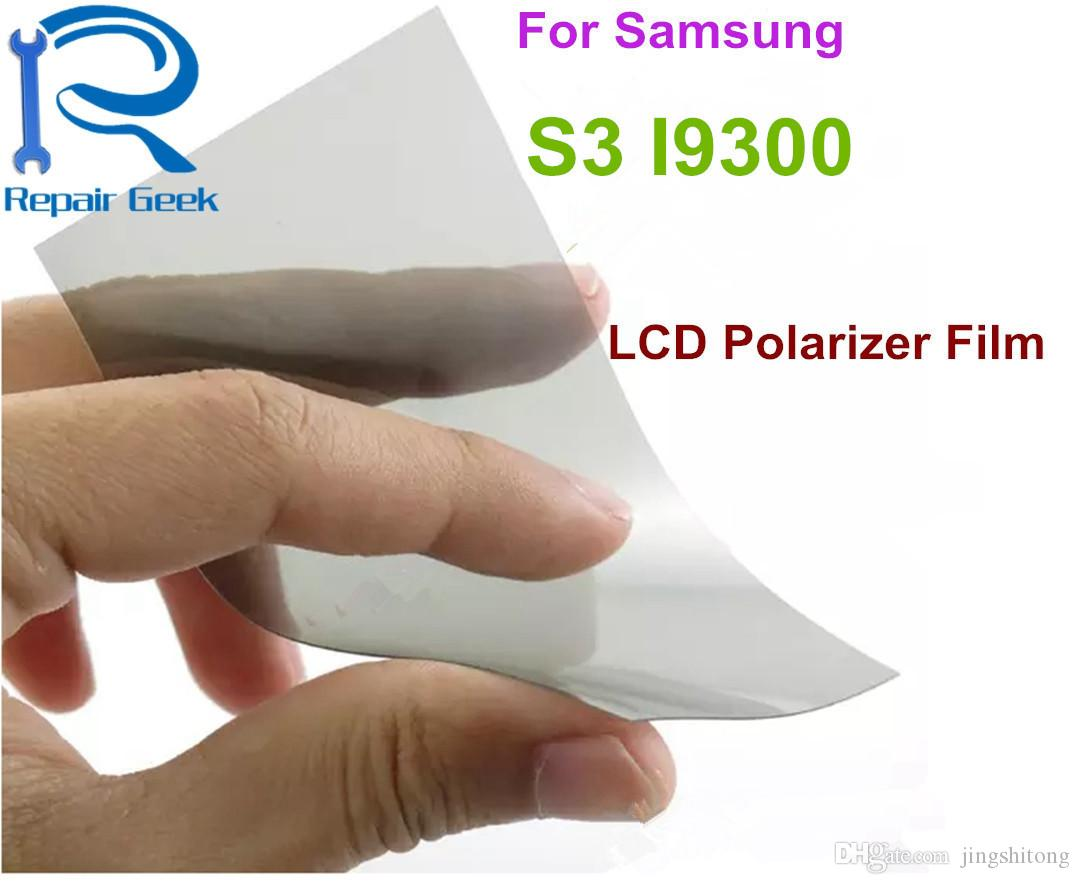 LCD Polarizer Film For Samsung Galaxy S III S3 i9300 / ATIV S i8750 for 4.8 inch Filter Polarizing Film Polaroid Polarization