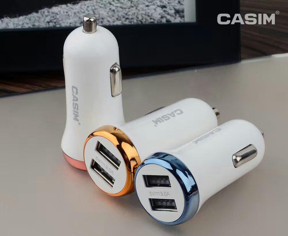 CASIM Hızlı Şarj 3.0 Hızlı USB Araç Şarj (30 W / 6A) iphone7 için 6 s 6 splus Samsung Galaxy S7 Kenar / S7 / S6 + / S6 / S5