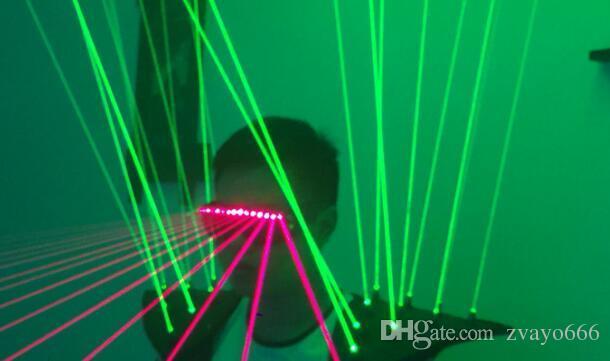 Grüne Lasershowkleidung grüner Schallasershowausrüstung roter und grüner Laser