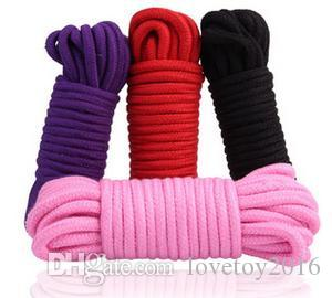 Romantische Teaser Spielzeug für Paare Baumwolle Seil Erwachsene Sex Spiel Spielzeug Sets Flirten Bondage Getriebe Zubehör BDSM Produkt