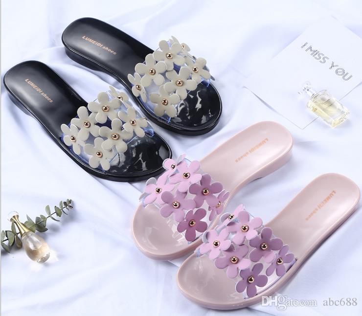 New women's Slippers women flip flops Beach sandals fashion Bling slippers summer women flats shoes woman flat sandals