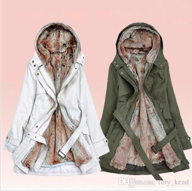 Women Down Parkas Lady Winter Clothing, Ladies Winter Coats Fur Lined
