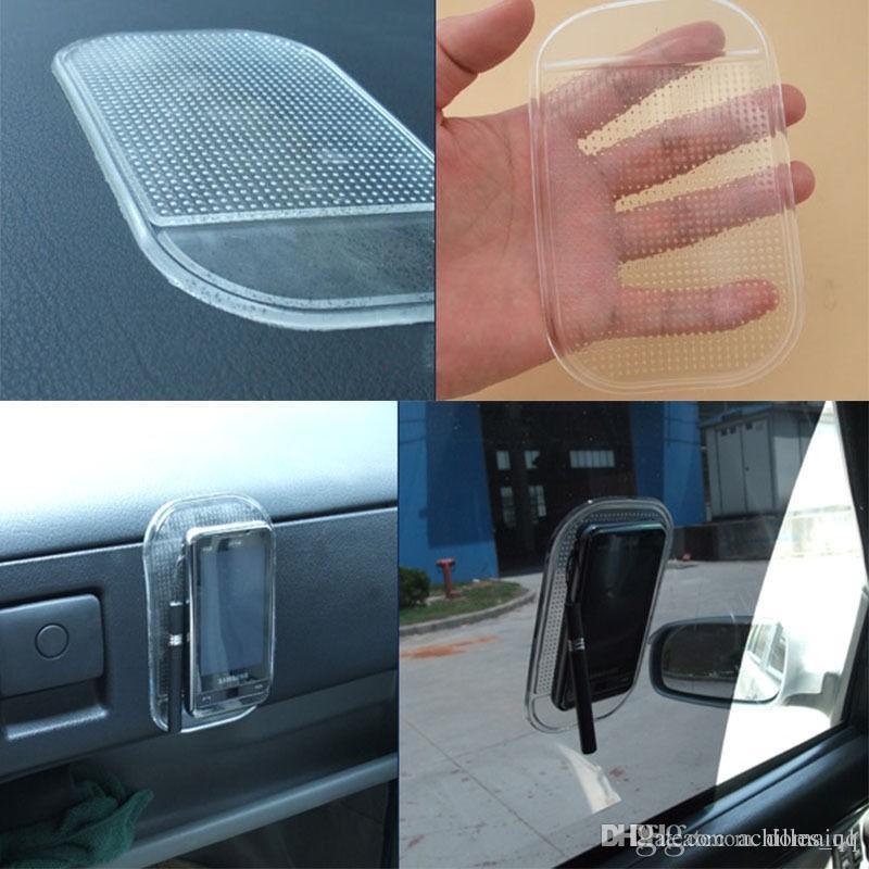 13x7cm Car Anti-Slip Mat Automobile Interior Acessórios Anti Slip Car Fixo Anti-Slip Mat Universal Ferramentas titular