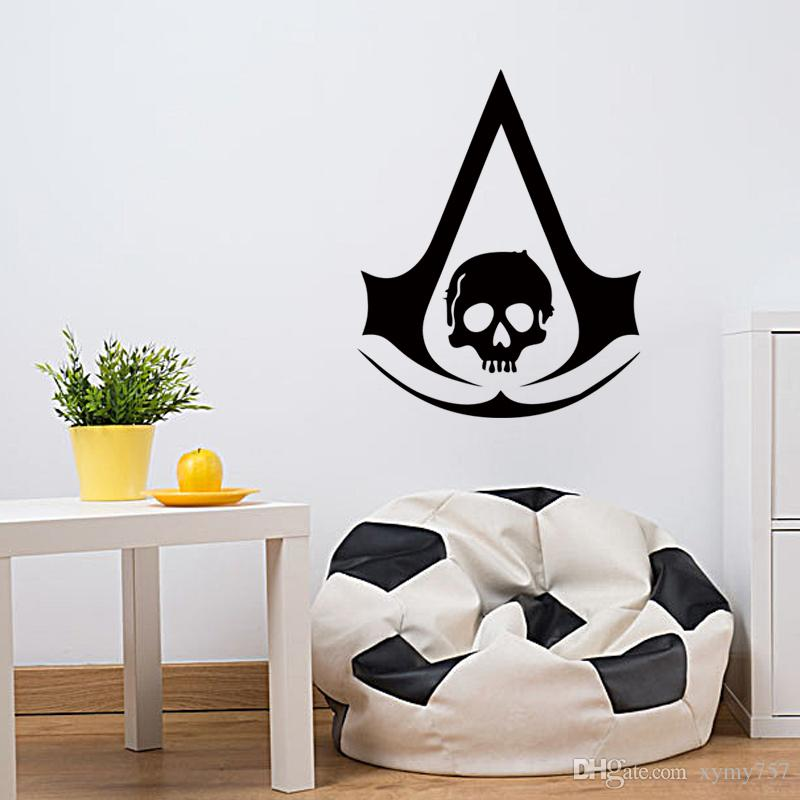 ... Personality Style Assassinu0027s Creed Art Decor Wall Stickers Vinyl Stickers  Stickers Bedroom Living Room ...