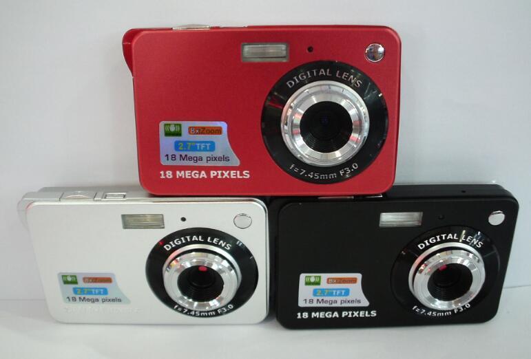 كاميرا رقمية عالية الدقة 10x بدقة 16 ميجابكسل 2.7 بوصة TFT 4X تكبير الابتسامة التقاط كاميرا فيديو مضادة للاهتزاز DC530 Alishow 4-DV