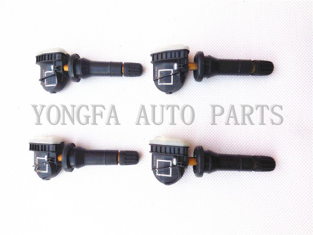 Ensemble de 4 TPMS Capteur de pression de pneu pour Ford Focus Ranger EV6T-1A180-CB 1862980