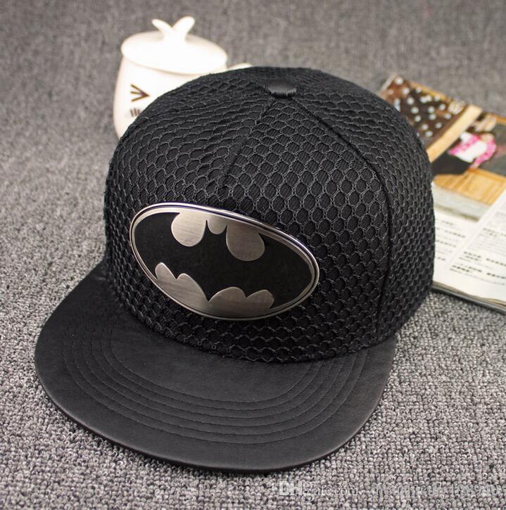 새로운 혼합 색상 여름 배트맨 야구 모자 모자 남성용 여성용 캐주얼 뼈 힙합 스냅 백은 일 모자 캡