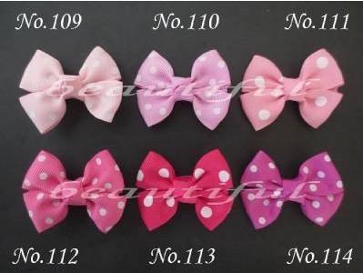 "Free Shipping 120pcs Ribbon 2"" Bowknot Hair Bow Clip /Baby Girl Hair Accessories Retail Wholesale Fashion Boutique Hair Bow"