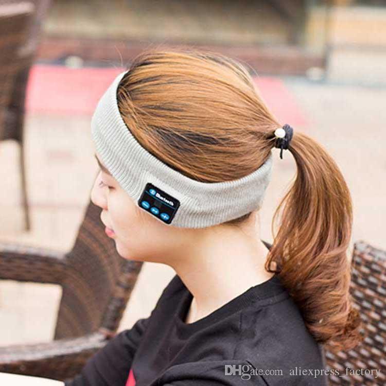 Bluetooth kopfhörer für iphone 7 plus stirnband rand yoga hut sport cap headset drahtlose kopfband earplug musik player handphone handfree kappe