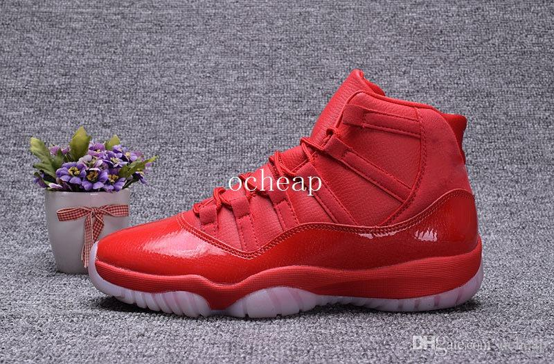 the all red 11s