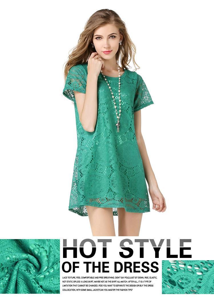 Wholesale 2017 Summer Dress Kaleidoscope Style Sexy Big Hem ...