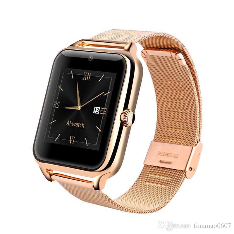 Z50 Smart Watches Bluetooth Smart Watch Phone Wristwatch Smartwatch Fashion Luxury Support SIM TF Card Call Reminder For Iphone IOS Android
