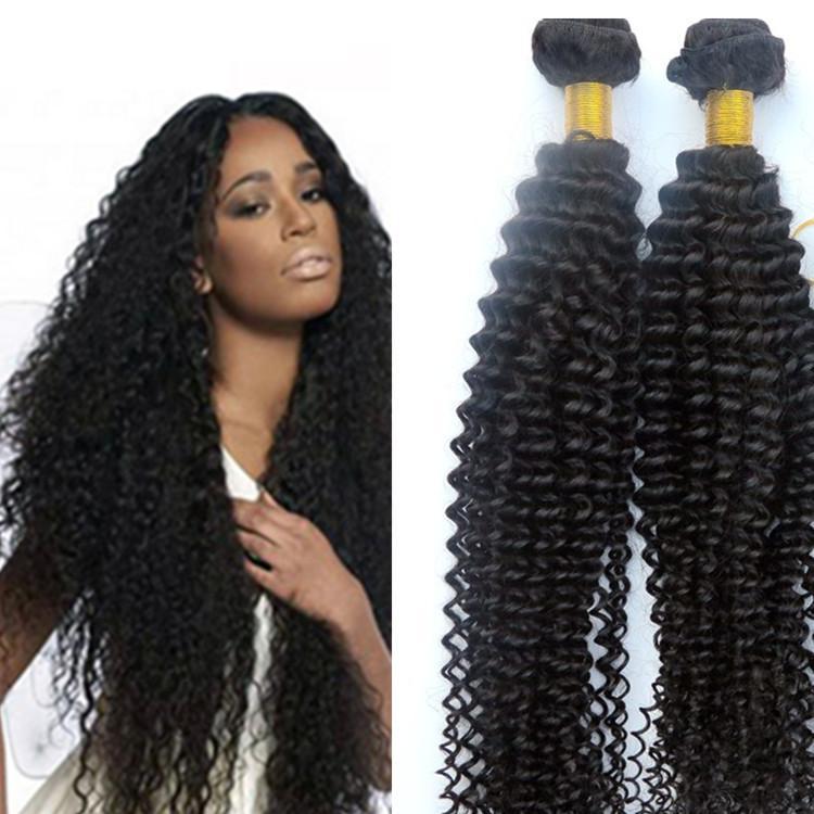 Девственные бразильские пучки волос человеческих волос плетет кудрявый вьющиеся утки 8-34inch необработанные Индийский перуанский малайзийский Dyeable наращивание волос