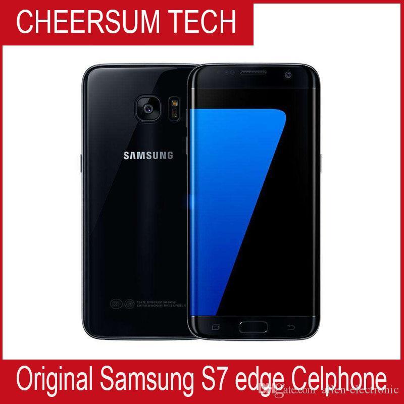 Oryginalny Samsung Galaxy S7 Edge G935A G935V G935T G935P Odblokowany telefon komórkowy 5.5 OCTA Core 4 GB / 32 GB 12mp 4G LTE odnowiony smartfon