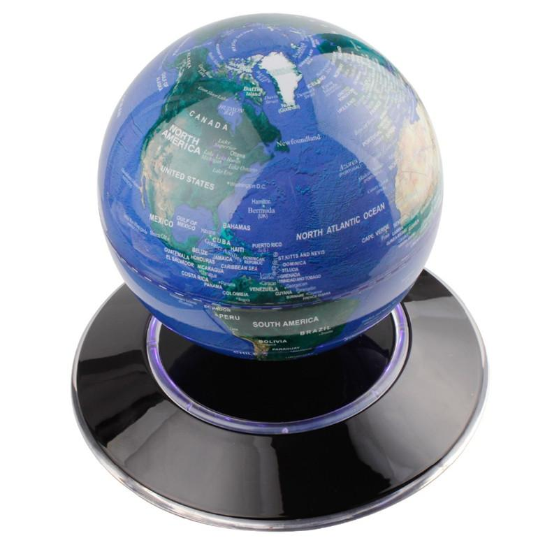 2018 magnetic levitation globe maglev levitating floating 6 globe tagsworld map decoration magnetic levitation floating globe floating globe rotating magnetic suspending world map earth geography gumiabroncs Choice Image