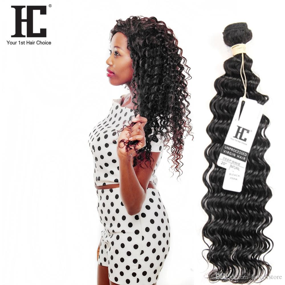 Hot Selling!!! Malaysian Deep Wave Human Hair Weaves 100% Unprocessed Human Hair Extensions 1 Bundles Malaysian Human Hair Weave Bundle
