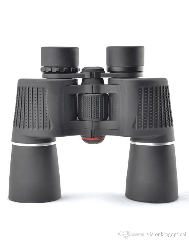Visionking 10x50 jumelles de haute puissance de Porro grands oculaires télescope prismaticos pour la chasse / camping jumelles grand angle