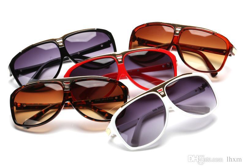 Brand desgin-2018 Clássico tons de óculos de sol sapo, 0350 Vintage Sunglasses