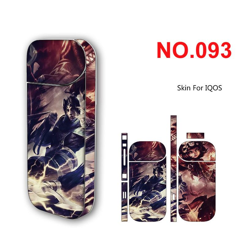 20 Types IQOS Sticker Protector Label Skin Wrap For IQOS Box Mod Ecig  Accessories Decoration Stickers In Stock DHL Free Vaping Coil Calculator  Coil