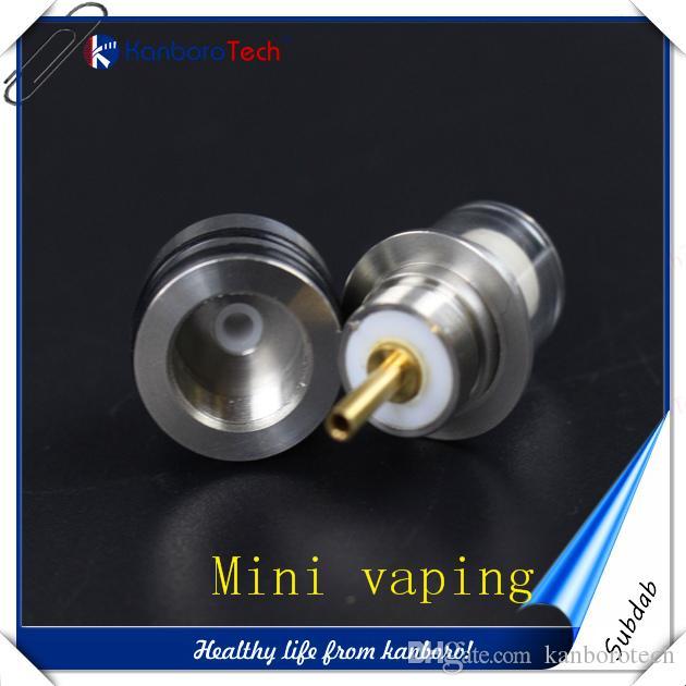 2016 cire subdab kit électronique vaporisateur cire tension réglable design portable boîte à cigares mod avec deux filiters grade lassg ..