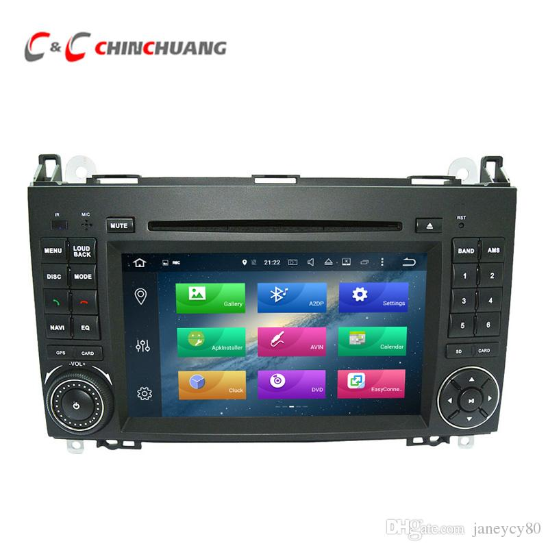 Updated 4G RAM Octa Core Android 8.0 Car DVD Player for Benz W245 with Radio GPS Navi Wifi DVR Mirror Link