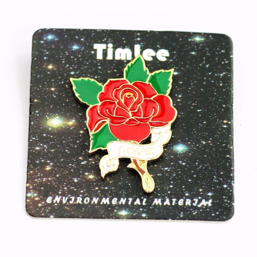 Timlee X223 Nette Tiere Einhorn Emaille Pin Liebe Hand Bier WTF Rose Brosche Pins Button Pins Modeschmuck Großhandel