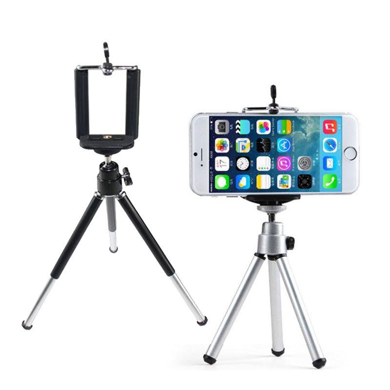 Universel Mini 360 Rotatif Extensible Mini Trépied + Support Pour Samsung Note 3 Galaxy S5 iPhone 5S 4S Pour Galaxy Note