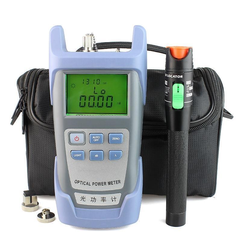 30mW Lichtleiterkabeltester und LWL-Leistungsmesser (-70dBm ~ + 10dBm) für die optische Fehlersuche