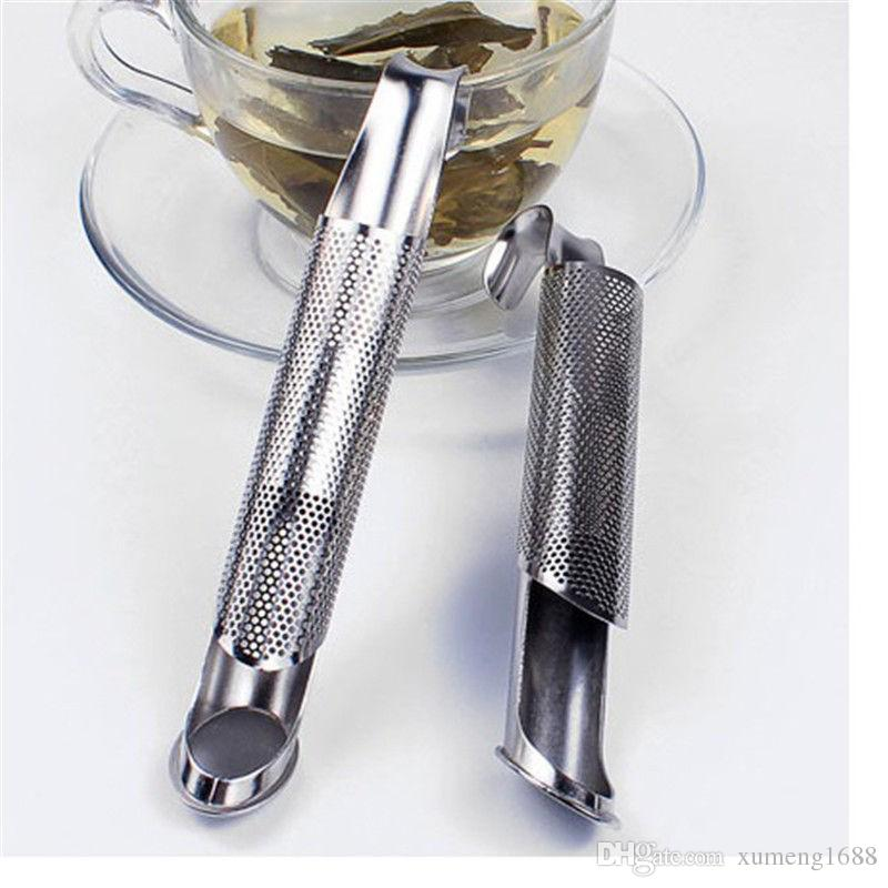 Tea Strainer Amazing 304 Stainless Steel Tea Infuser Pipe Shape Design Touch Feel Good Tea Tool, Kitchen Gadgets