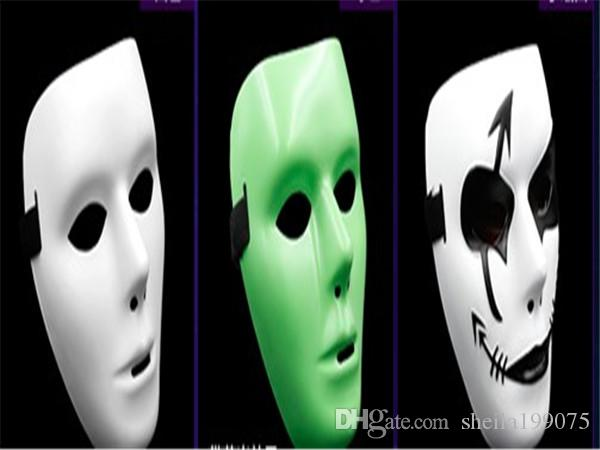 Хип-поп маска Jabbawockeez маска белый мужская и женская маска улица шаг танцевальная вечеринка
