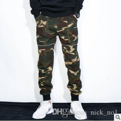 various styles select for official 100% genuine 2019 Mens Joggers Camouflage Pants Military Jogger Streetwear Chinos Men  Sweatpants Hip Hop Joggers Streetwear Camo Cargo Pants From Nick_no1,  &Price; ...