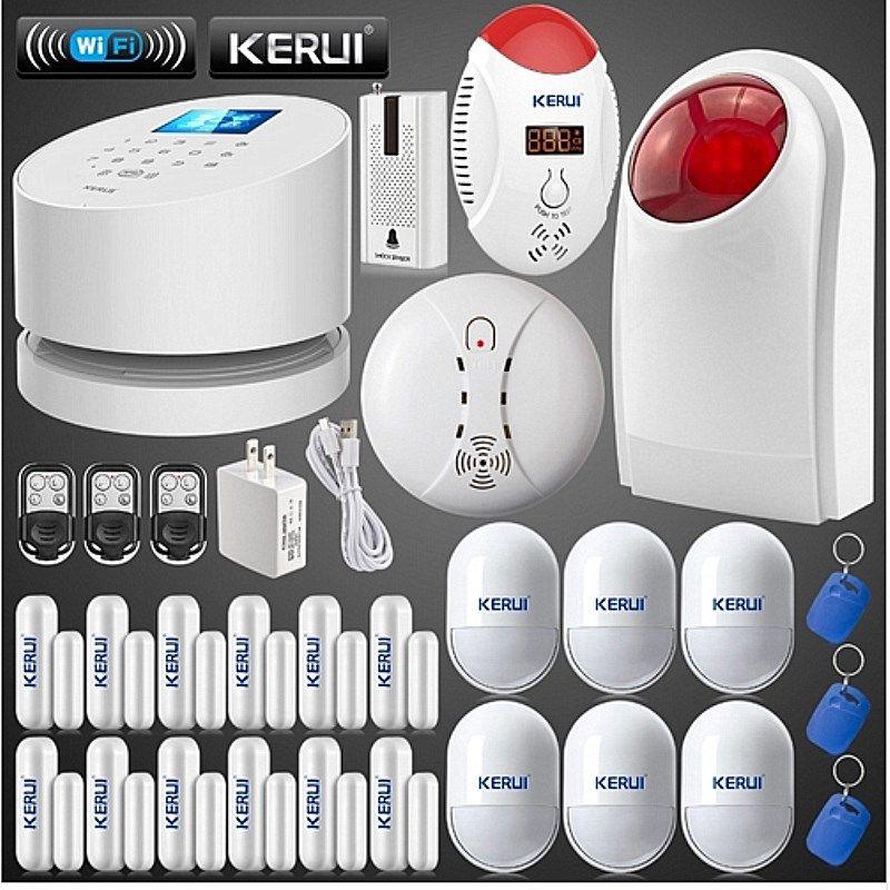 Wireless Glass Break Sensor Detector Lot For KERUI Home Security Alarm System