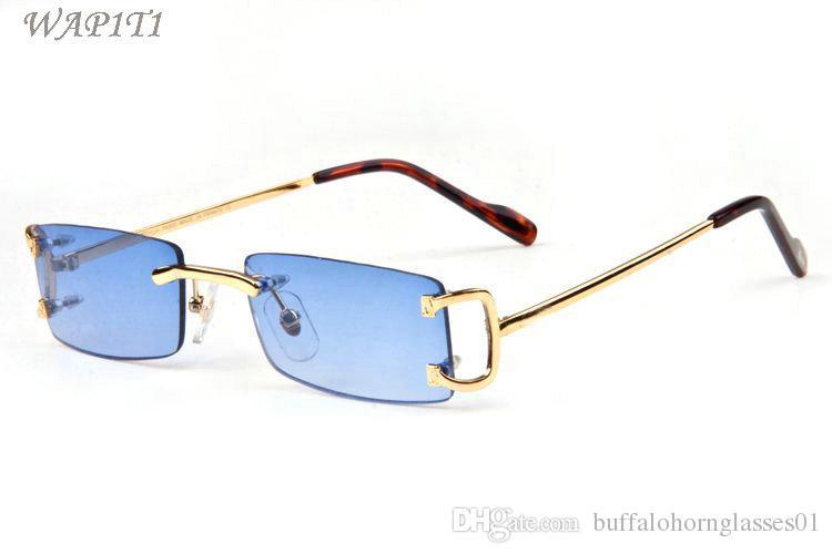 square sunglasses for men 2020 fashion attitude metal retro women oversized sun glasses red blue glasses frame clear lenses lunettes Gafas