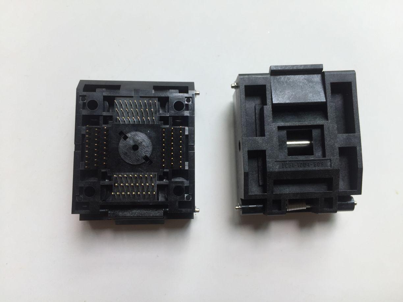 prizine yakmak 14x14mm Yamaichi ic test soketi IC51-1004-809-23 qfp100pin 0.5mm saha