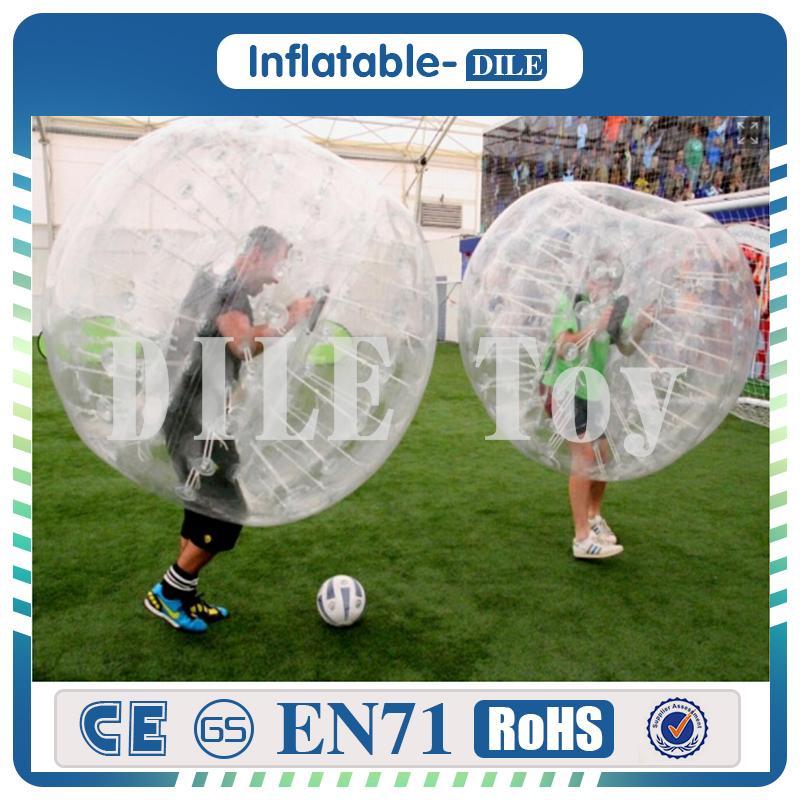 무료 배송 Door To Door inflatable bumper ball 풍선 인간 햄스터 공 0.8mm PVC 1.5m 장난감 공 외부