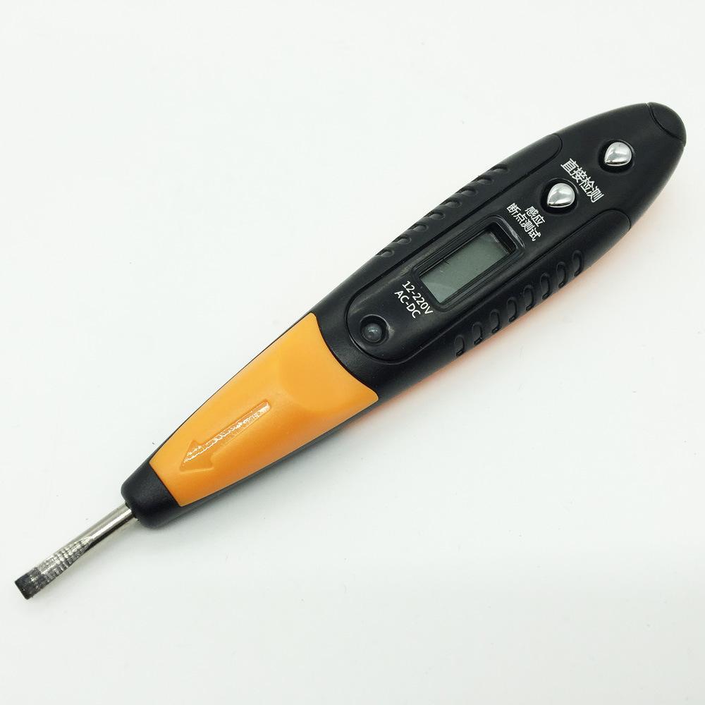 Multifunctional pencil household digital electronic electroscope anticreeping word maintenance digital inductive test pencil