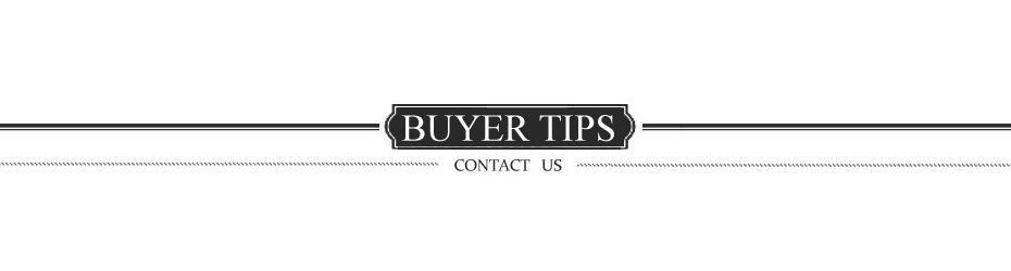 6 buyer tips
