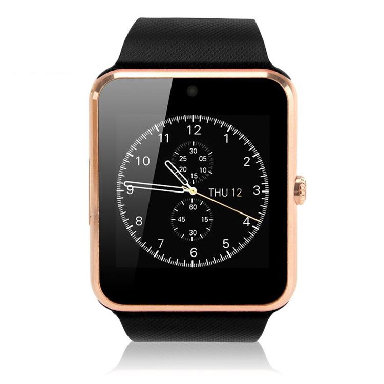 1 Piece Smartwatch GT08 Clock Sync Notifier With Sim card Bluetooth Smart Watch for Apple iPhone IOS Samsung Android Phone