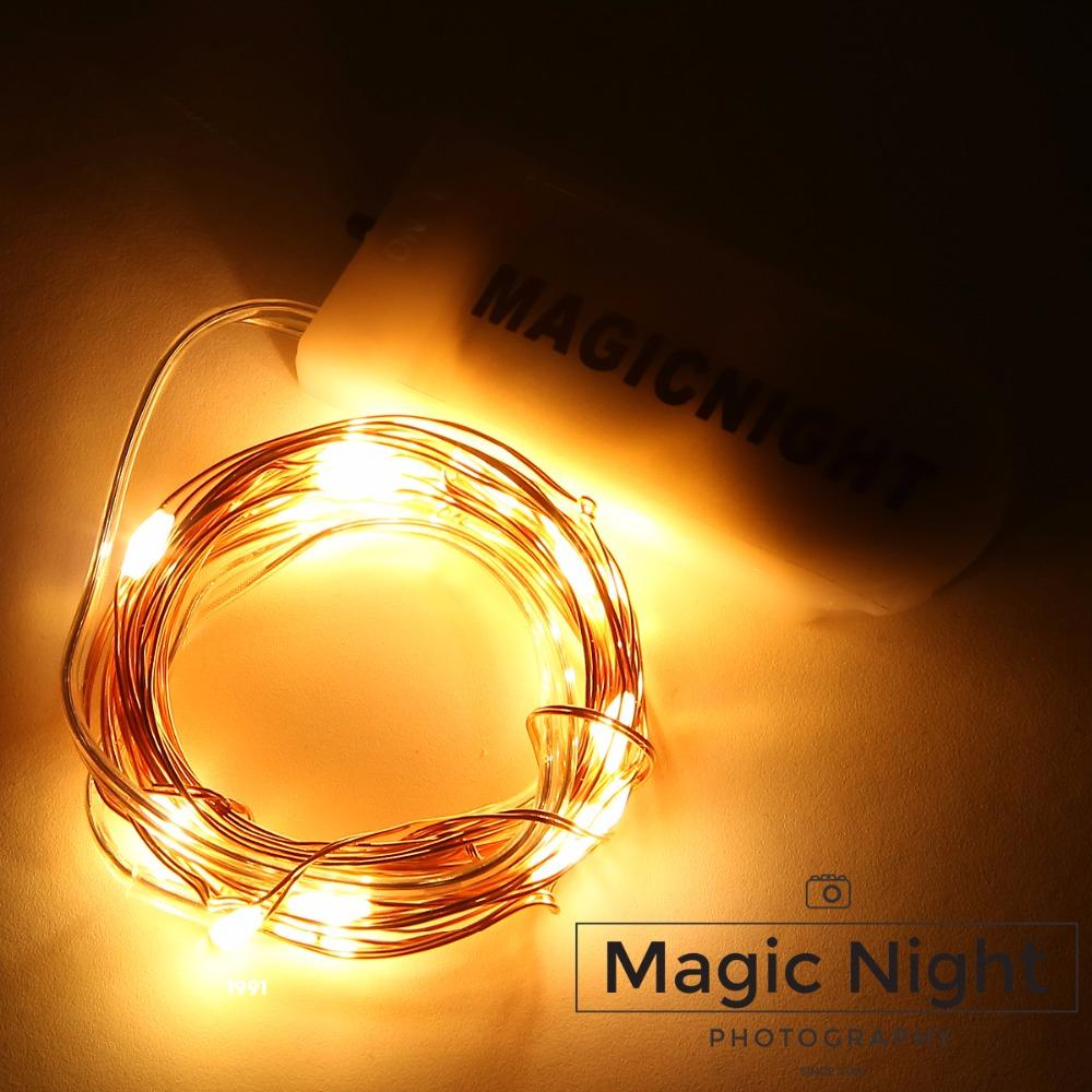 Wholesale- Magicnight 20 Warm White Color Micro LED String Lights on ...