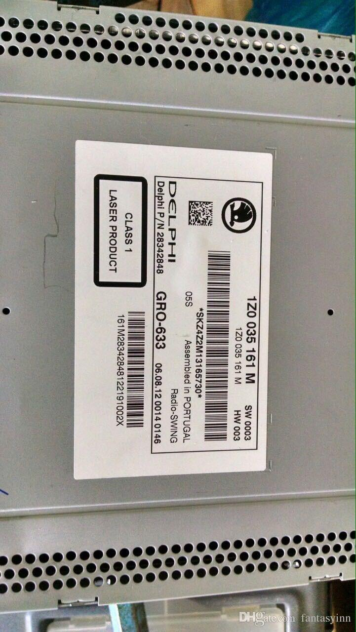 VW autoradio Unlock Servizio Decode SKODA RCD510 RCD200 RCD310 e radio altalena