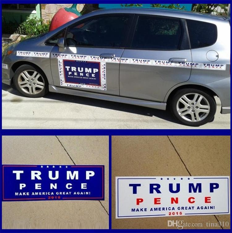 Bumper Stickers For Cars >> 2019 Car Decals Donald Trump For President Make America Great Again Bumper Sticker Exterior Accessories 4585 From Tina310 0 24 Dhgate Com