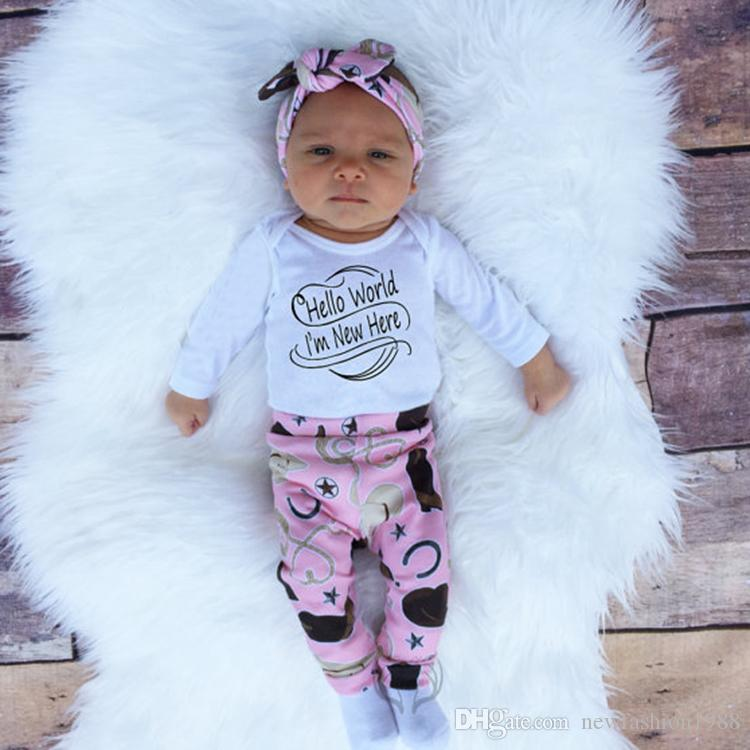 ... 2017 Christmas Newborn Children Set kids Outfits Xmas Girls Boys clothes autumn clothing Suit Kids Wear ...  sc 1 st  DHgate.com & 2018 2017 Christmas Newborn Children Set Kids Outfits Xmas Girls ...